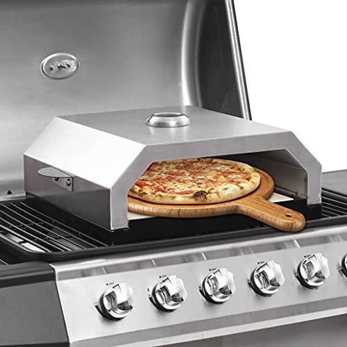 Pizzaofen mit Keramikstein für...