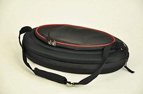 nanook faltbare Transporttasche / Transportbox für Katze, Kaninchen und kleine Hunde, 43 cm , schwarz - 5