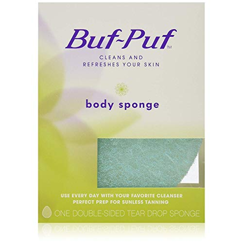 Buf, Puf Double, Sided Body Sponge (Quantity of 5)