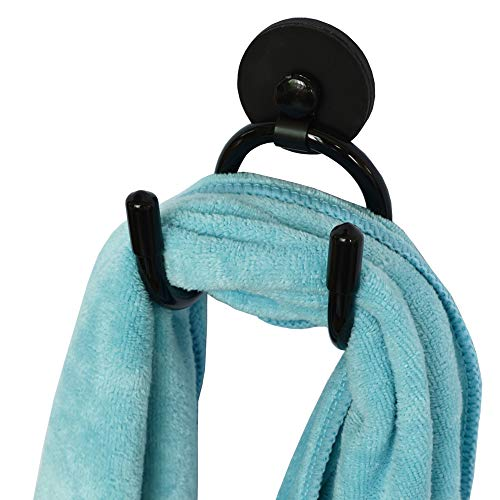 YYST Mini Magnetic Towel Hook Towel Hanger Rack for Kitchen Dish Towels  Hand Towels Sports Sweat Towels  Gym Towels etc Not for Bath Towels - Hold up to 05 Lb- No Towels Included 1