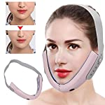 Electric Micro-Current Face Slimming Massager Intelligent Infrared Remote Control Hot Compress Face-Lifting V-Face Shaping Massage Reduce Double Chin
