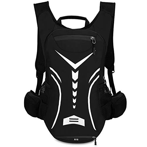 lakeback Cycling Backpack Biking Daypack For Outdoor Sports Running Breathable Hydration Pack Men Women 18L