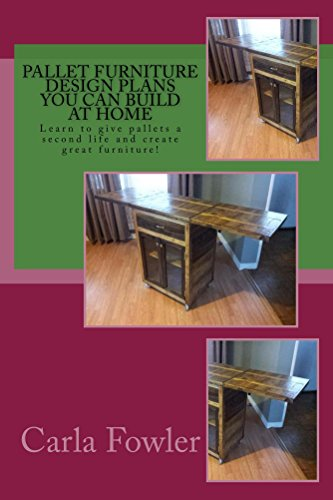Pallet Furniture Design Plans You Can Build at Home: Create Your Own Personal Style with Pallet Furniture! (English Edition)