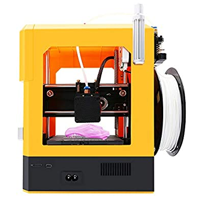Tresbro Creality Cr-100 Mini 3D Printer with Fully Assembled and Intelligent Leveling, Best for Kids Children Beginner Students STEM Educational Toys