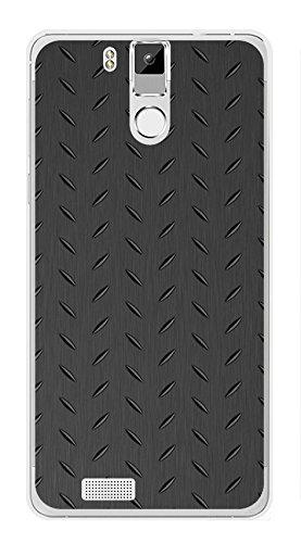 Tumundosmartphone Funda Gel TPU para OUKITEL K6000 / K6000 Pro diseño Metal Dibujos