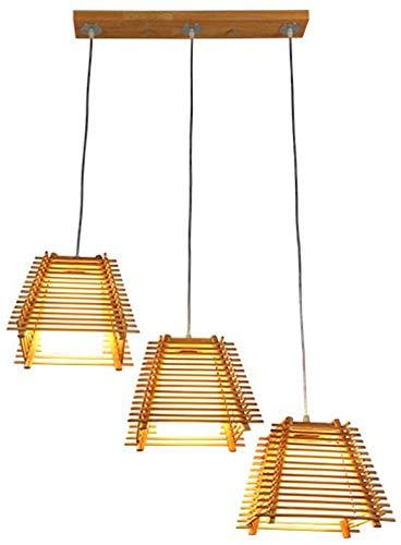 Kreative Holzdecke Kronleuchter dekorative Eisenstangen Haushalt/Restaurant/Hotel Innenbeleuchtung,Gold