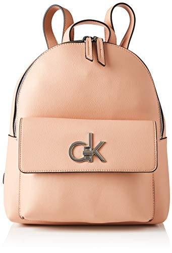 Calvin Klein Backpacks, Mochilas para Mujer, rosa polvo, One Size