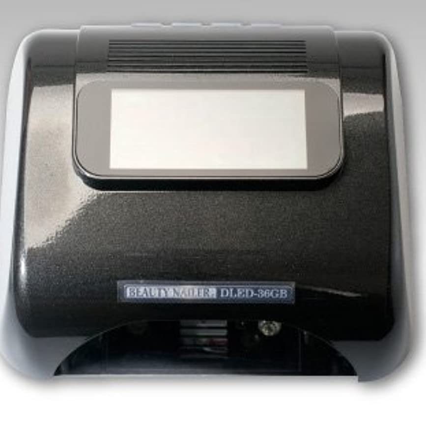 維持する状バブルデジタル LEDライト DLED-36GB ムラキビューティネイラー