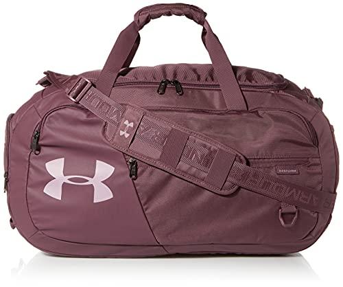 Under Armour Adult Undeniable Duffle 4.0 Gym Bag, Ash Plum (554)/Mauve Pink, Medium
