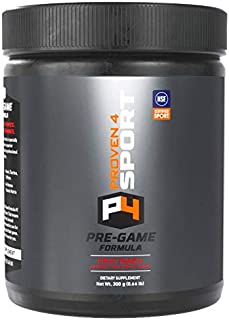 Proven4 preworkout for Men and Women with creatine and beta Alanine. NSF Certified Supplements for a Clean pre Workout Pow...