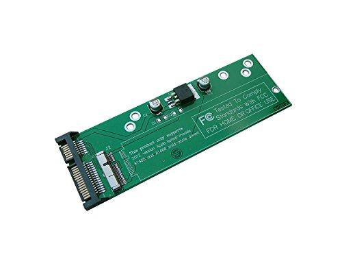 KALEA-INFORMATIQUE Adapter SATA für SSD Mac Pro Retina 7+17 8+18 Pins (Jahr 2012) PA5025G A1398 MC975 MC976 MD224 MD223 MD231 MD232 A1425 A1466 A1465