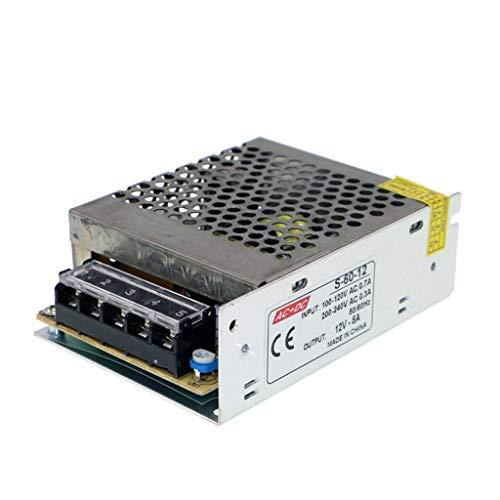 vente discount nouveau sélection revendeur HAILI Switch Power Supply Driver AC 110/220V to DC12V 5A 60W Transformer  for CCTV Camera, Security System, LED Strip Light