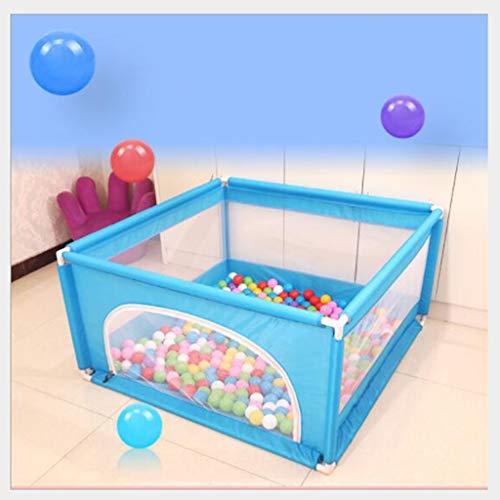 Baby box, baby Ball Pool tent for jongens en meisjes, Secure kruipen, opvouwbaar hek, veiligheidshek for kleine kinderen (met uitzondering van ballen), geschikt for baby's 1-8 jaar