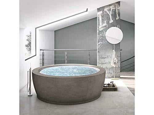 Amazing Deal Hafro Bolla Sfioro freestanding hydromassage bathtub 2BOA2N2