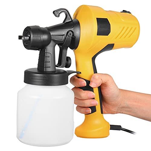 HEQIE-YONGP Pistola a spruzzo Elettrico ad Alta Potenza Home Home Electric Paint Pistola aerografo 800ml per mobili per Auto spruzzatura