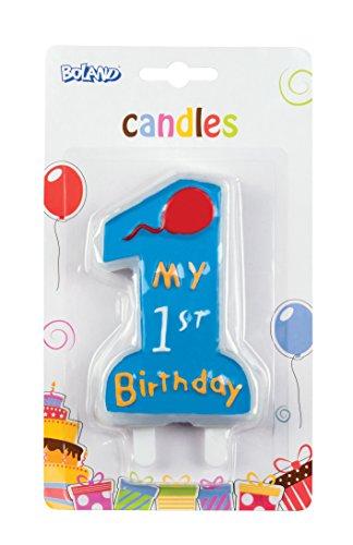 Boland 63411–Vela My 1st Birthday, Azul
