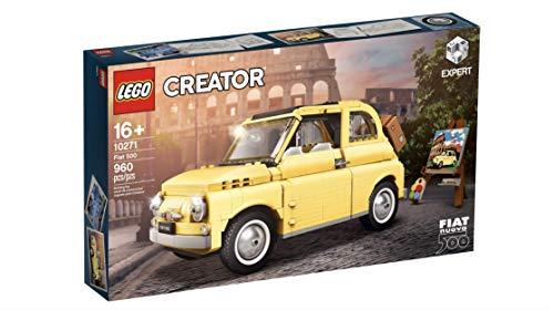 LEGO Creator Expert Fiat 500 Model car (10271). A True icon of Classic Automotive Design
