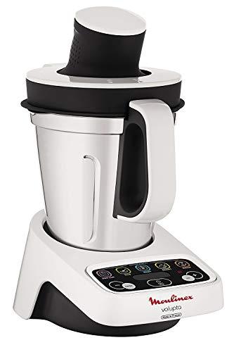 Moulinex hf4041 volupta Robot de cocina multifunción con cocción, 5 programas automáticos para pasta, platos al vapor, vellutate y postre, 1000 W (Reacondicionado)
