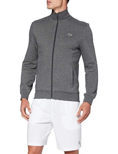 Lacoste Sport Herren Sh1559 Pullover, Bitume Chine/Graphite Som, S