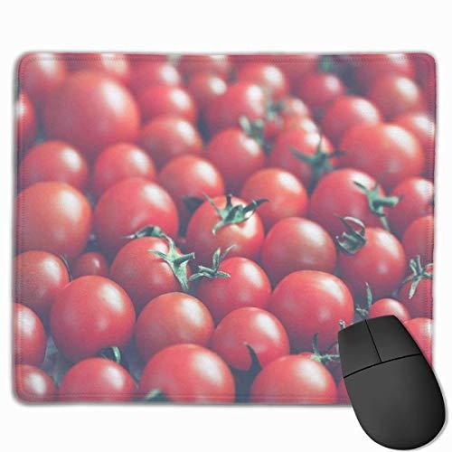 Nettes Gaming-Mauspad, Schreibtisch-Mauspad, kleines Mauspad für Laptop-Computer, Mausmatte Viele reife Tomaten in Vintage-Farben