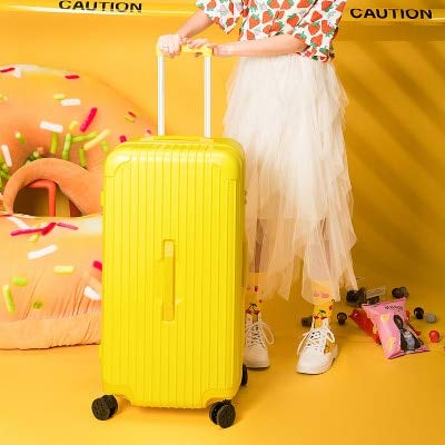 Mdsfe Fashionable luggage trolley case 24 inches 26 inches 28 inches 30 inches large capacity suitcase travel business suitcase, 24'