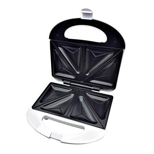 aasdf Sandwichera de Relleno Profundo Panini Platos tostados Sandwichera Triangular Máquina para Hacer Helados