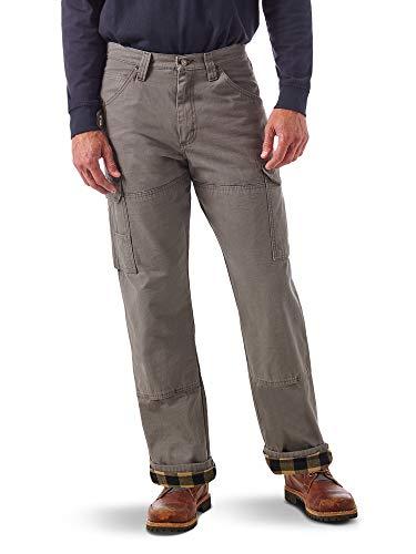 Wrangler Riggs Workwear Flannel Lined Ripstop Ranger Pant Pantalones de utilidades de Trabajo, Pizarra, 40W/36L para Hombre