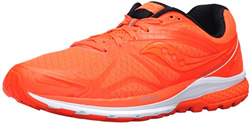 Saucony Men's Ride 9 Running Shoe, Slime/Blue/Blue, 9 M US