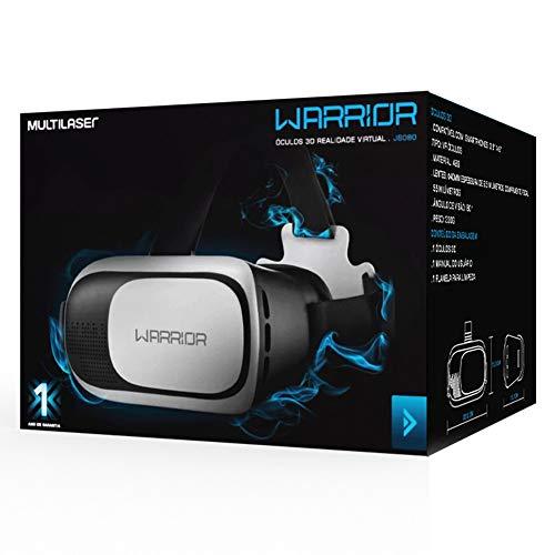Óculos 3D Warrior Gamers Realidade Virtual VR