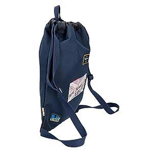 41SrF80OK8L. SS300  - Pepe Jeans Scarf Mochila Tipo Casual, 46 cm, 0.81 litros, Azul