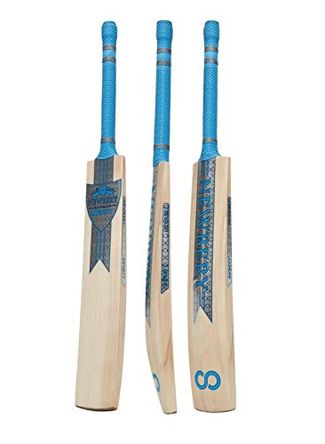 Newbery Cricket Unisex, Jugendliche Infinity Kricket-Schläger, Silber/Blue, 0