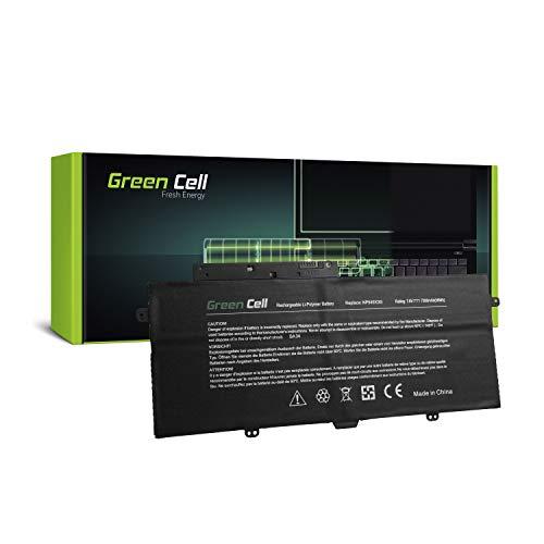 Green Cell® AA-PLVN4AR Laptop Akku für Samsung ATIV Book 9 Plus 940X3G NP940X3G (Li-Polymer Zellen 7300mAh 7.6V Schwarz)