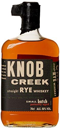 Knob Creek Rye Whisky, intensiver und würziger Geschmack, 50% Vol, 1 x 0,7l