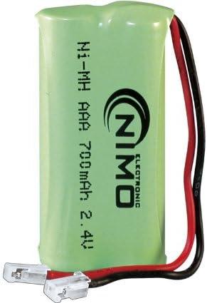NIMO - Pack De Baterías 2,4V/700Mah Ni-Mh.