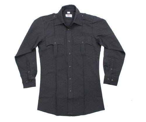 First Class Long Sleeve Uniform Shirt 1XL Black