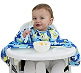 Veronica Baby Waterproof Weaning Allover Bib for Self-Feeding Babies and Toddlers Baby High Chair...