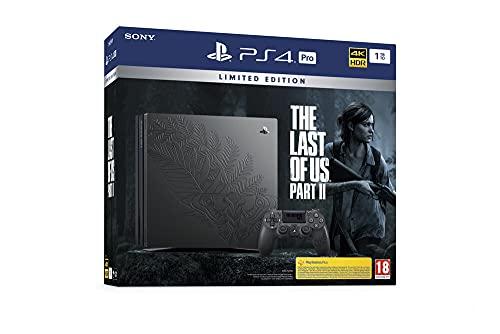Sony PlayStation 4 Pro 1 To Édition Spéciale The Last of Us part II Limitée, Avec le jeu inclus + 1 manette sans fil DUALSHOCK 4 V2 personnalisée