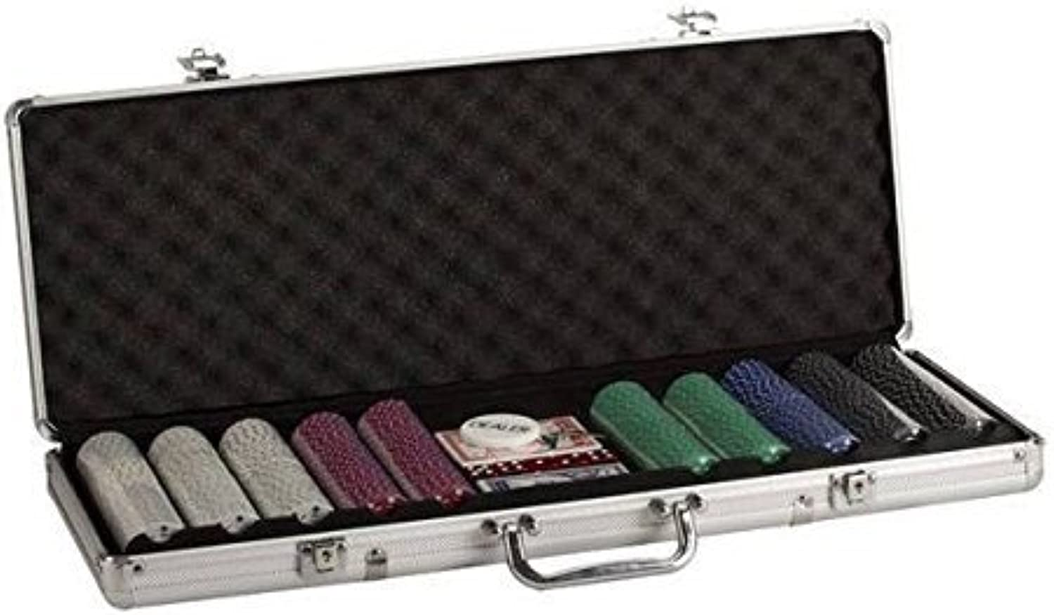 Poker Set with Aluminum Case (500 Piece), 11.5g by CHH