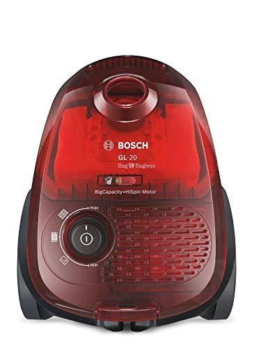 Bosch Elettrodomestici BGL2UA3208 Aspirapolvere a Carrello con e Senza Sacco, 600 W