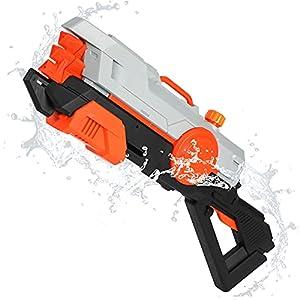 TINLEON Pistolas de Agua para Niños y Adultos, 920CC Super Squirt Guns Water Soaker, Pistolas de Chorro hasta 36 pies de Alcance Lucha Juguetes de Verano Piscina al Aire Libre Playa