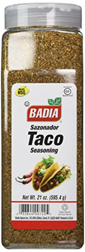 Badia Taco Seasoning, 21 Ounce
