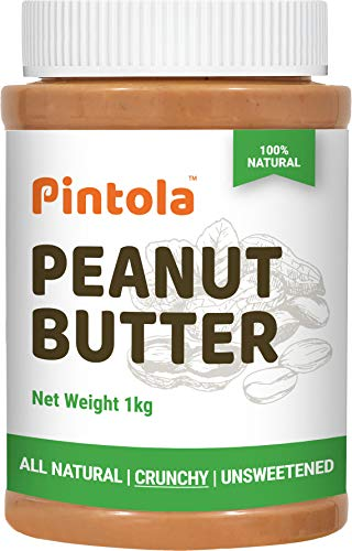 Pintola All Natural Peanut Butter (Crunchy) (1kg) |...
