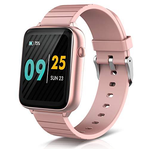 ELEGIANT Fitness Activity Tracker, Smartwatch Bluetooth 5.0 Orologio IP68 con 1,54\'\' Schermo Toccato 128MB capacità 23 Sport per iPhone 11 PRO XS XR x 8s Samsung S20 S10 S9 Huawei P40 P30 P20 ECC