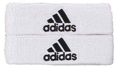 adidas Unisex Interval 1-inch Muscle Band, White/Black, ONE SIZE
