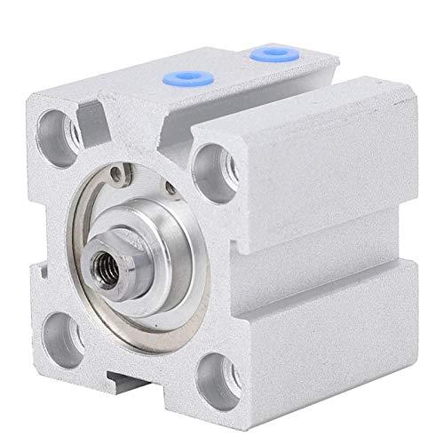 Bediffer Cilindro de aire fino de sellado bidireccional SDA20x10 para carrera de 10 mm