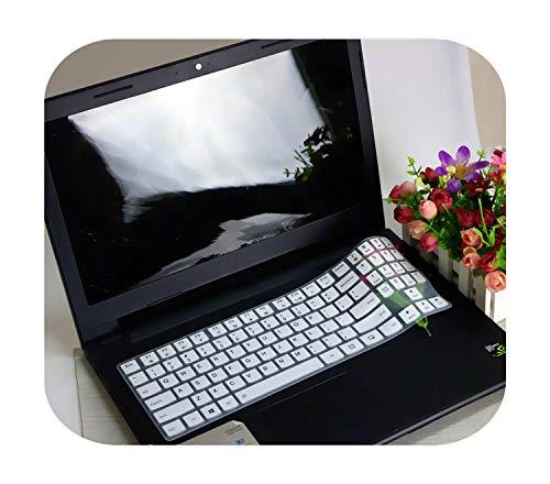 Para teclado de 15.6 pulgadas ultra delgado portátil para Lenovo Legion Y720 Y530 Y520 15 Y520-15Ikb R720 15Ikb R720-15Ikb Gaming-blanco-