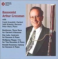 Bassoonist Arthur Grossman by Arthur Grossman (1993-05-03)