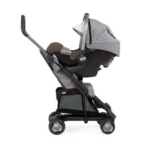Nuna–Carrito para niños + Silla + Adaptador, en color gris