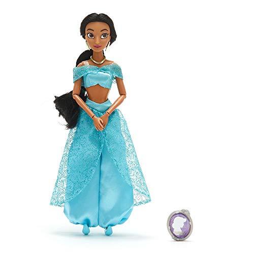 Disney Jasmine Classic Doll with Pendant  Aladdin  11  Inches