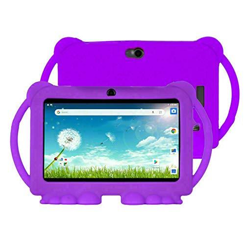 tablet para niños de 7 Pulgadas, Aprendizaje, Entretenimiento, la Memoria de la computadora es de 1GB + 16GB Compatible con navegación Bluetooth Sensor de Gravedad